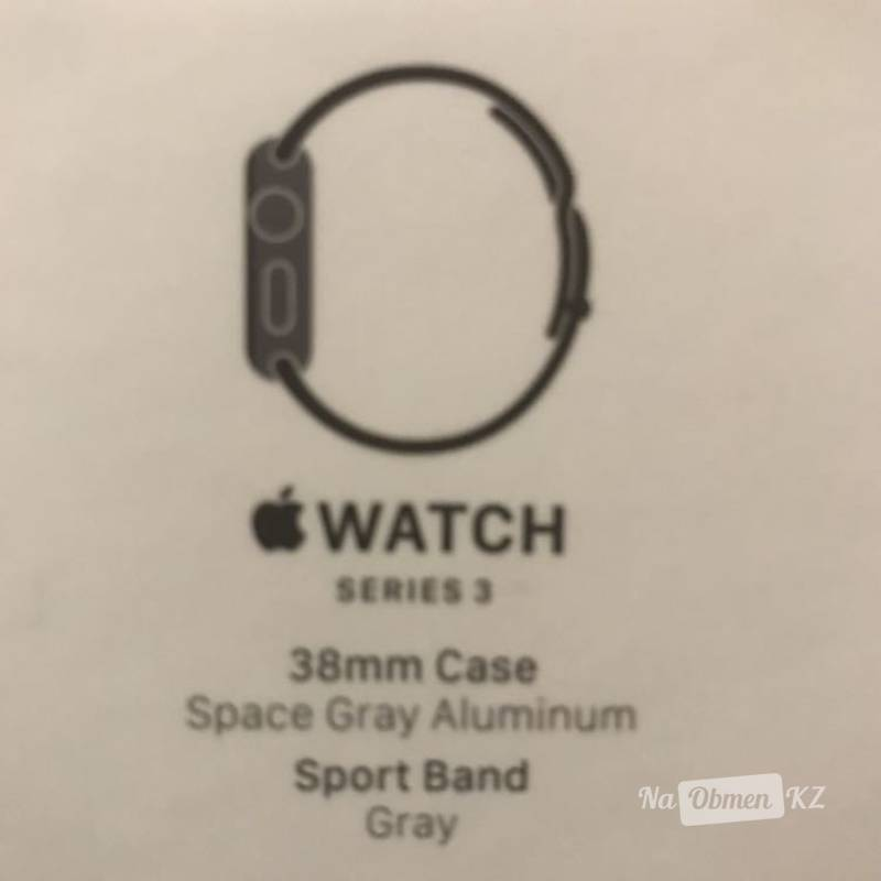 Apple Watch series 3. 38 mm